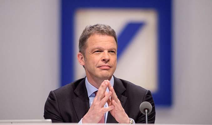 Deutsche Bank CEO'suyla güven tazeledi