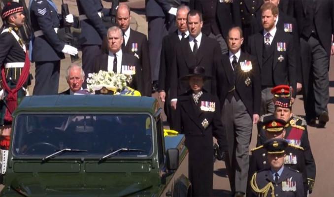 İngiltere Prensi Philip son yolculuğuna uğurlandı