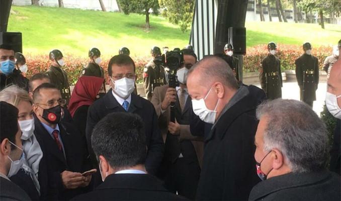 Cumhurbaşkanı Erdoğan ve Ekrem İmamoğlu bir araya geldi