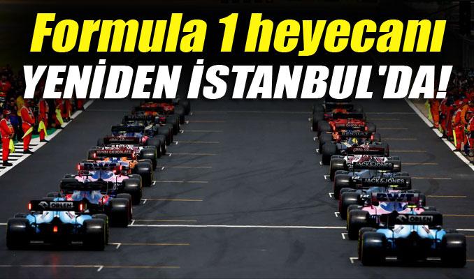 Formula 1 heyecanı yeniden İstanbul'da!