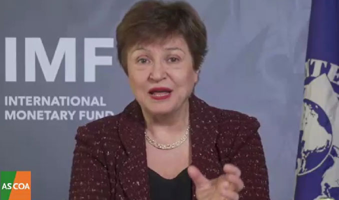 Georgieva: Aşı politikası, ekonomik politikadır