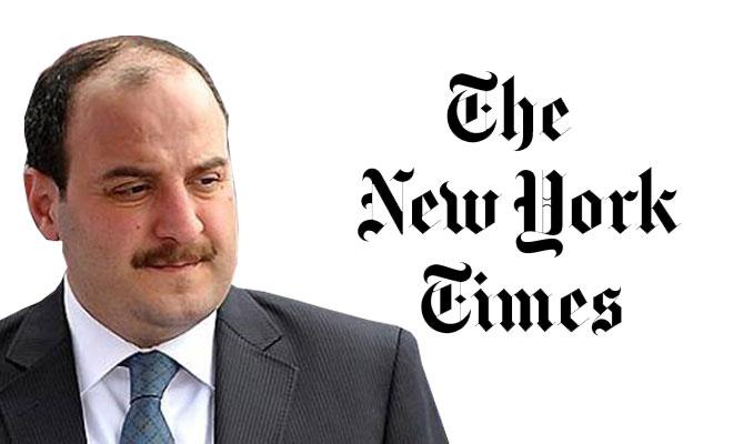 Bakan Varank'tan New York Times'a 'Yazıklar olsun' tepkisi