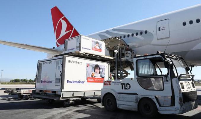 Yeni parti Çin aşısını taşıyan uçak Esenboğa'ya indi