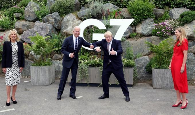 G7 Zirvesi öncesi Biden ve Johnson'dan Kuzey İrlanda mesaisi