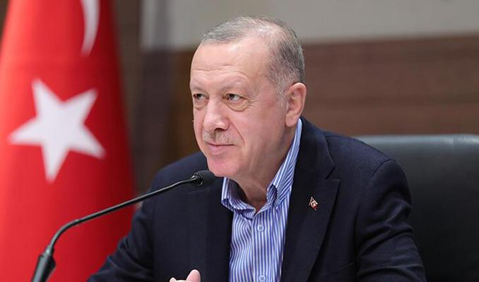 Erdoğan, A Milli Kadın Voleybol Takımı'na başarı dileklerini iletti