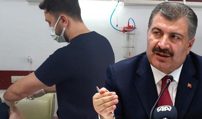 Sağlık Bakanı Koca paylaştı: 1 milyonuncu aşının yapıldığı an