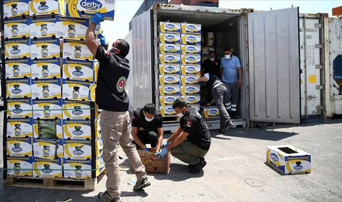 Mersin Limanı'ndaki operasyonda 150 kilo daha kokain ele geçirildi