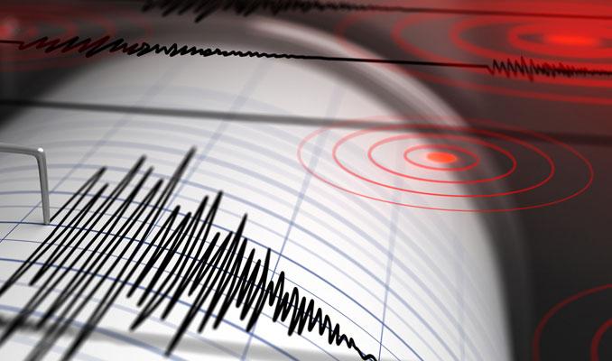 Marmaris açıklarında 4,1 büyüklüğünde deprem