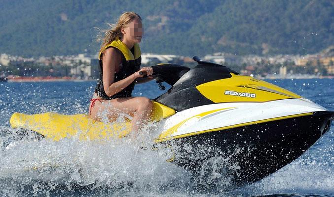 Ukraynalı turistlerin jet ski keyfi ölümle sonuçlandı
