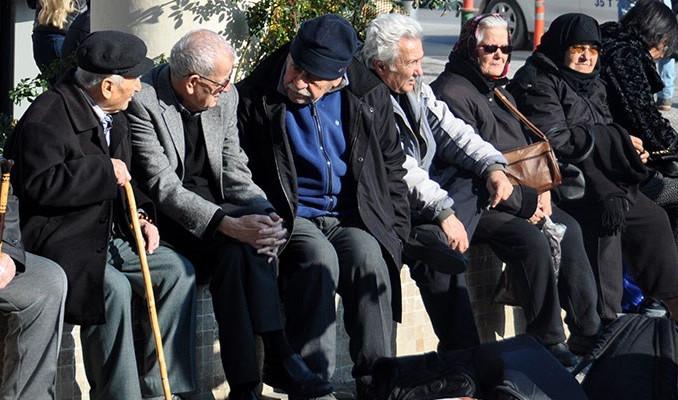 Türkiye'de 10 kişiden 1'i emekli