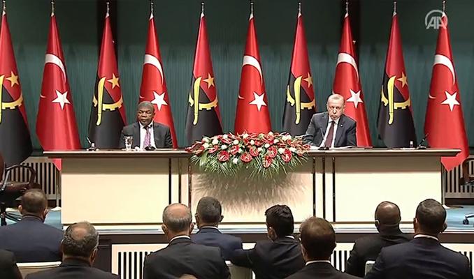 Erdoğan: Angola ile üst düzey ziyaretleri başlatacağız