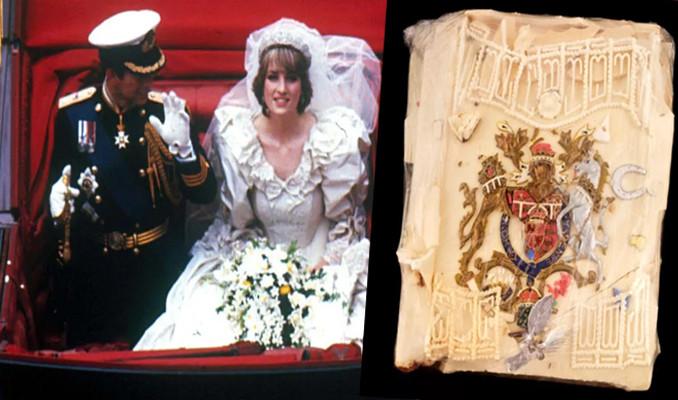 40 yıllık düğün pastası açık artırmada!