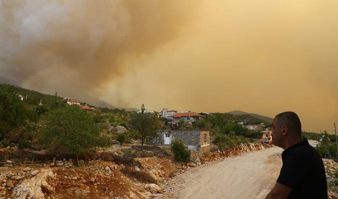 Antalya'nın Gündoğmuş ilçe merkezinin tahliyesine başlandı