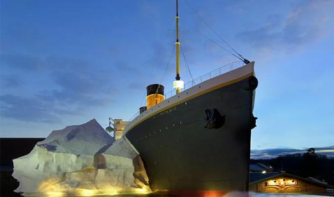 Titanik Müzesi'nde 'buzdağı' kazası
