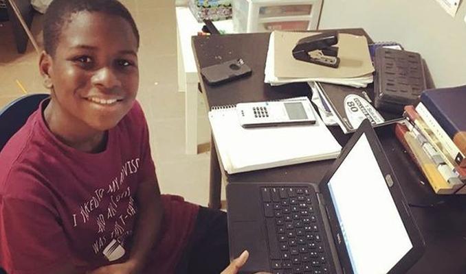 13 yaşındaki dahi çocuk,  yüksek lisans derecesi alma yolunda