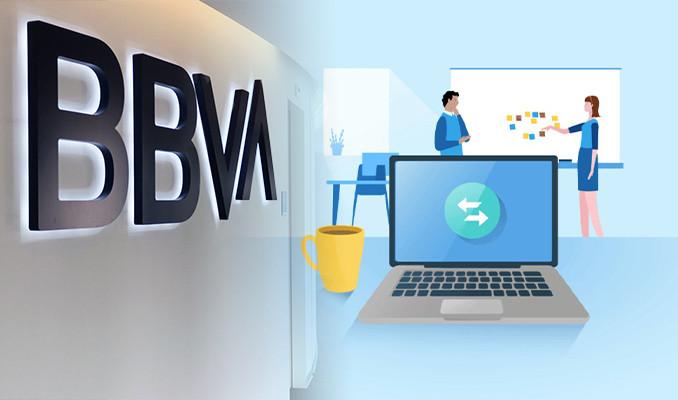 BBVA'dan çalışanlarına 'ofisini seç' uygulaması