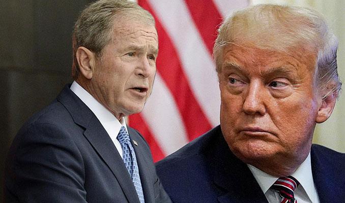 Bush ile Trump arasında tartışma