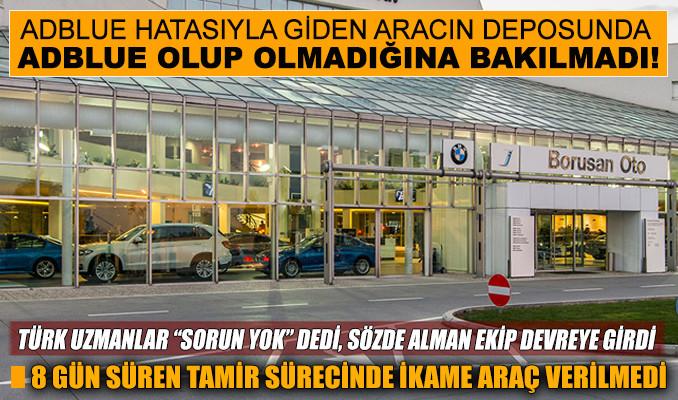 BMW servisinde büyük skandal!
