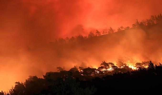 İsrail'de yangın! Yerleşim yerlerine ilerliyor