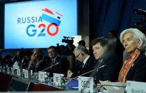G20 piyasalardaki huzursuzluk için toplanıyor