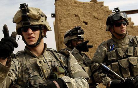 ABD askerleri elleri tetikte bekliyor