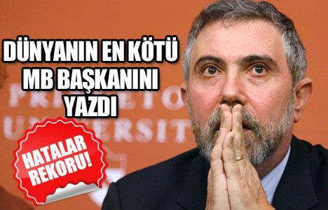 Dünyanın en kötü MB Başkanı!