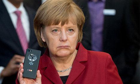 Merkel kurultayda korkuttu