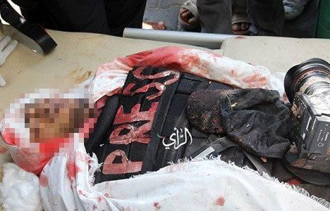 Gazze'de gazeteci öldürüldü