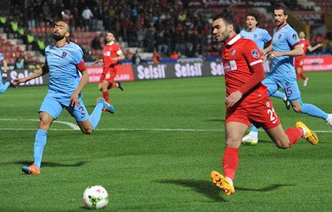 Gaziantepspor: 2 Trabzonspor: 0