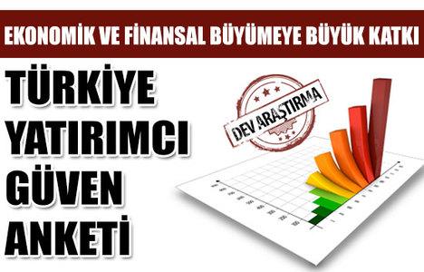 İşte Türkiye Yatırımcı Güven Anketi