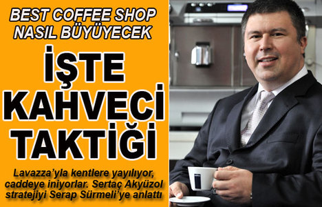Best Coffee Shop'tan büyük atak