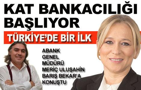 Abank, 'kat bankacılığı'nı başlatıyor