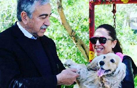 Mustafa Akıncı'nın kızı Rum dergisine kapak