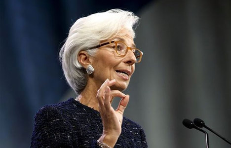 Lagarde:Petrol fiyatları uzun süre düşük kalabilir