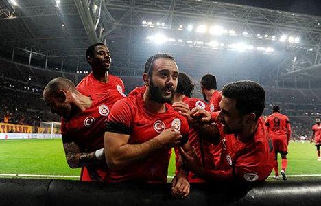 Galatasaray Arena'da Antep'e şans vermedi