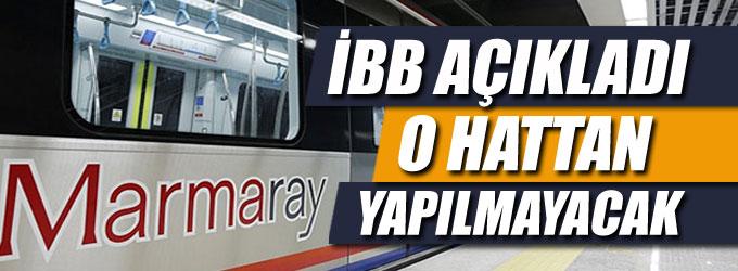 İstanbullular dikkat! Marmaray için önemli açıklama