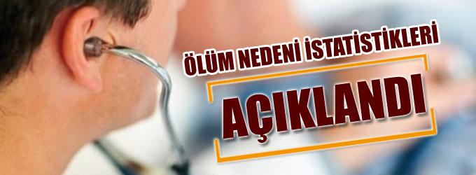 TÜİK'in 'ölüm nedeni istatistikleri' açıklandı