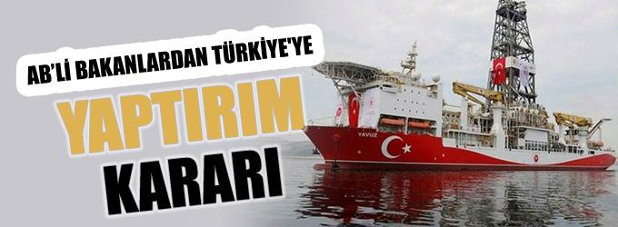 AB Bakanları Türkiye'ye yaptırım kararı aldı