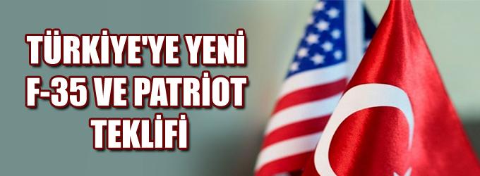 ABD'den Türkiye'ye yeni F-35 ve Patriot teklifi