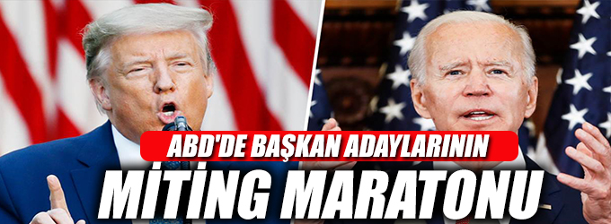 ABD'de başkan adaylarının miting maratonu