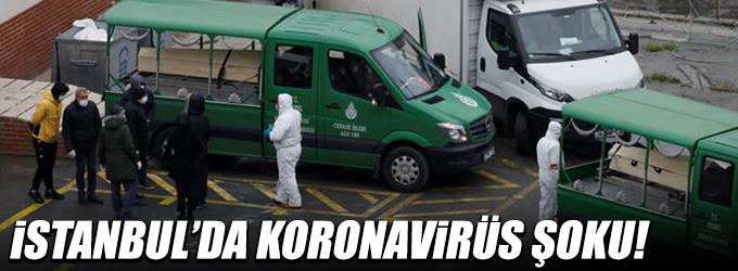 İstanbul'da koronavirüs şoku!