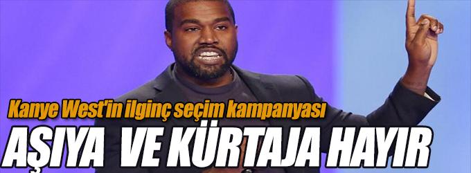 Kanye West'in ilginç seçim kampanyası