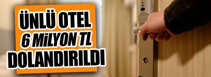 Muhasebeci Cevahir Otel'i dolandırmış