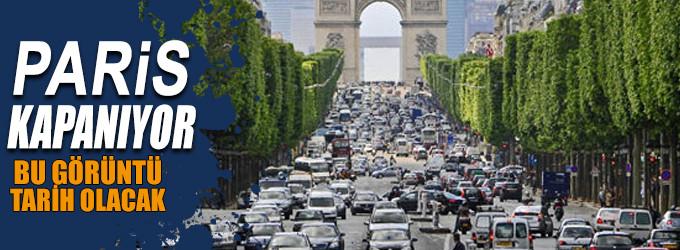 Seneye Paris'in merkezi yalnızca yayalara açık olacak