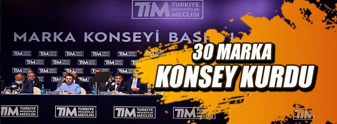 30 marka konsey kurdu