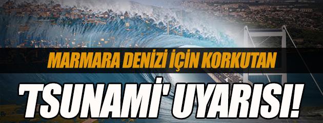 Marmara Denizi için korkutan 'tsunami' uyarısı!